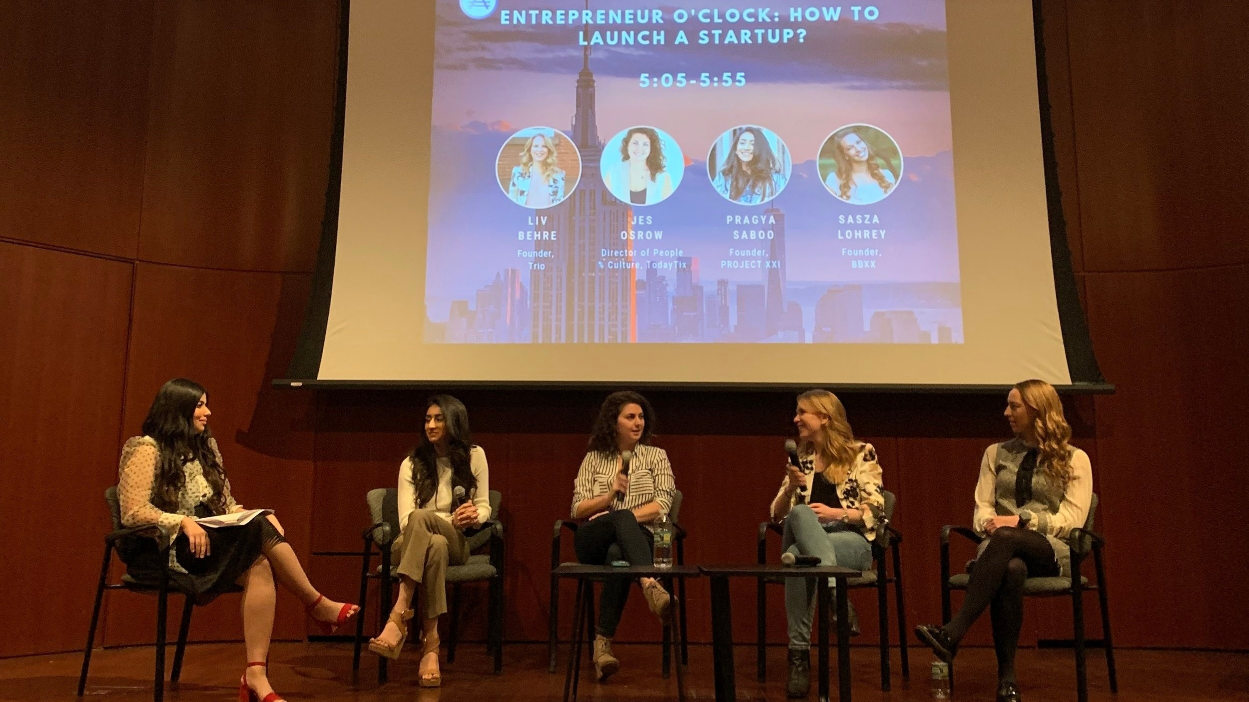 Panelist: How to Launch a Startup - Alinea Invest: CTRL + F: Find your #FemspirationColumbia University