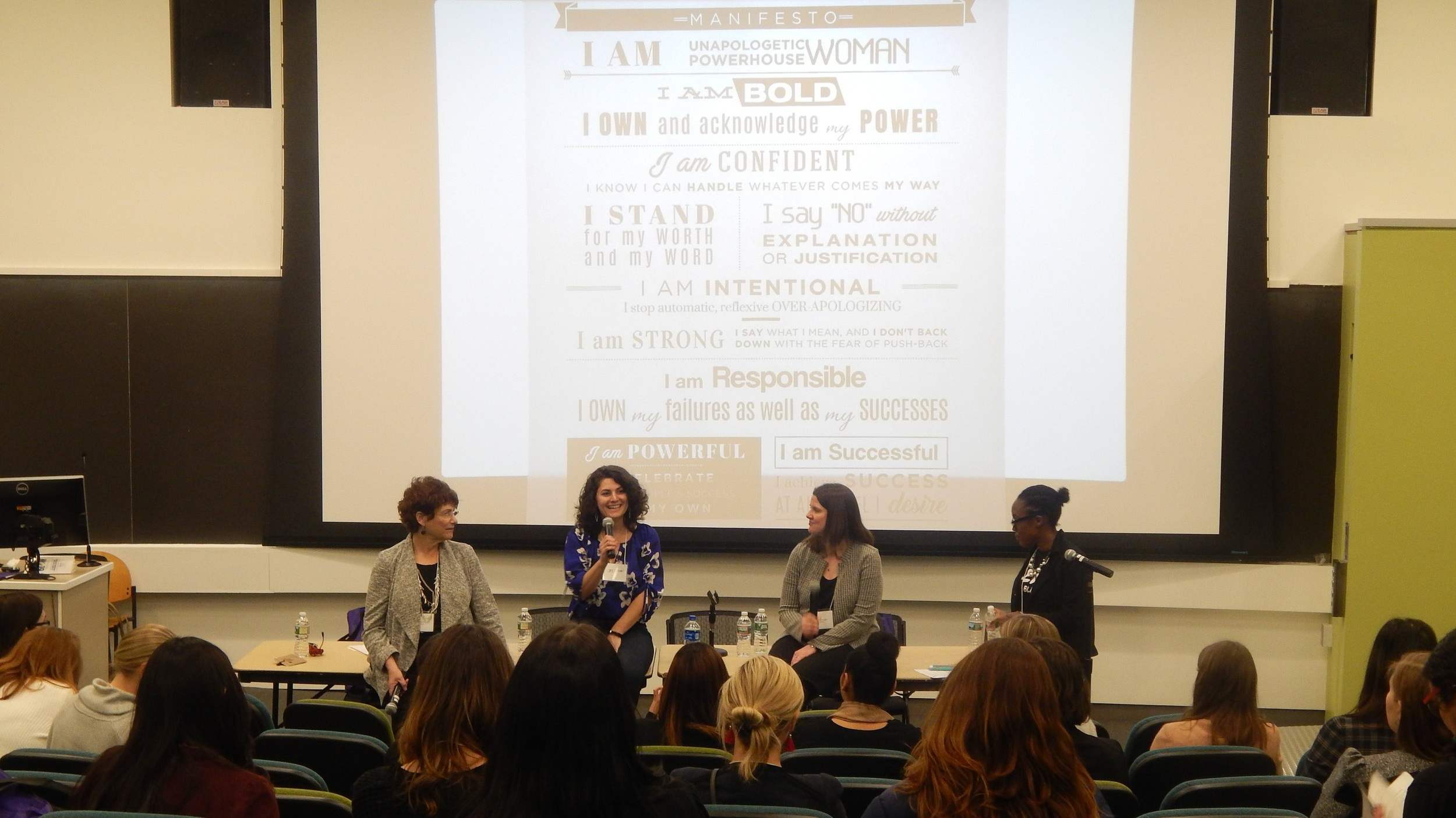 "Panelist ""Be Unapologetically You:Bold, Brilliant and Badass In Your Career "" - ""This was by far my favorite session. Super knowledgeable women who had a lot of experience and good advice, moderated beautifully, lots of tangible resources.""Boston GLOW Career and Empowerment Conference"