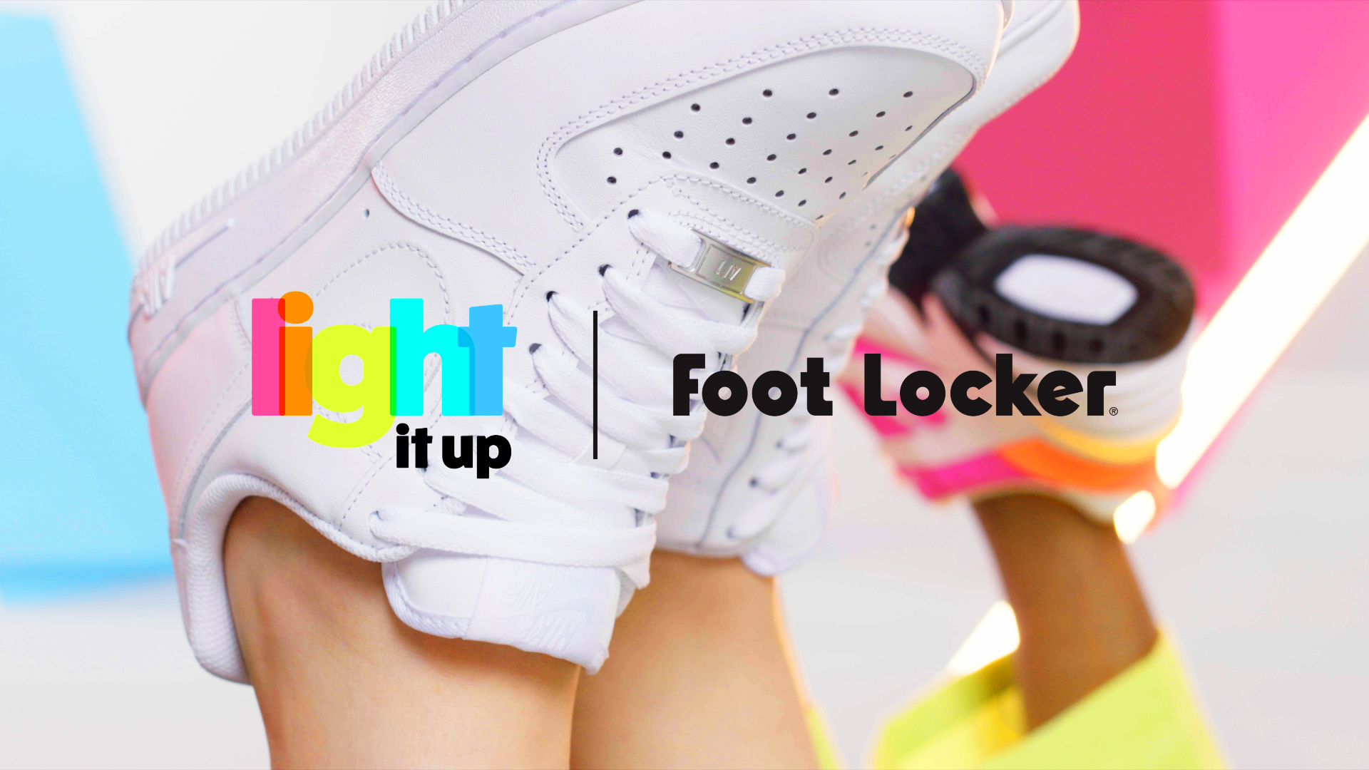 "Lady Foot Locker / Spring 2019 Campaign: ""Light It Up"""