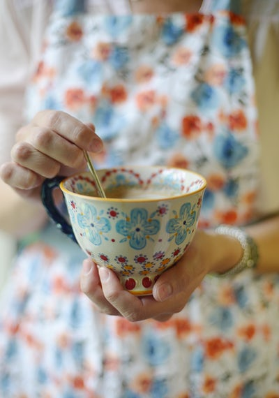 I remember your many blends of teas - and the scents of all those different wildflowers you foraged for and brought back to the tea house to tie with purple twine into fat bushels that you asked me help you hang upside down to dry in the darkest corner of the cellar.