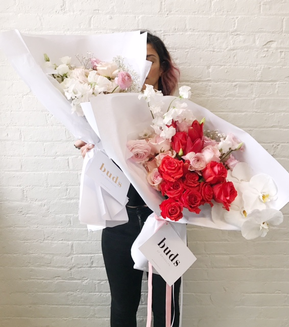 Deliveries - we create hand-tied bouquets & floral arrangements for delivery in NYC