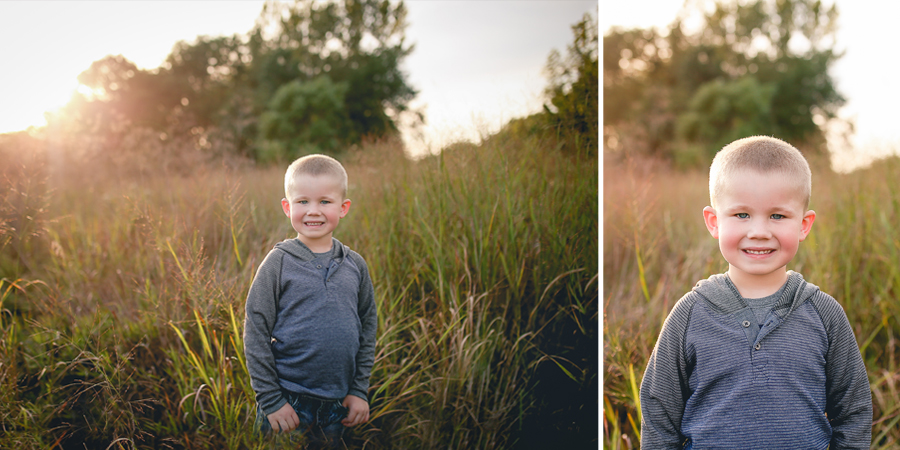 This kid right here is so full of spunk...he keeps all of us on our toes (and in a good way! :) )