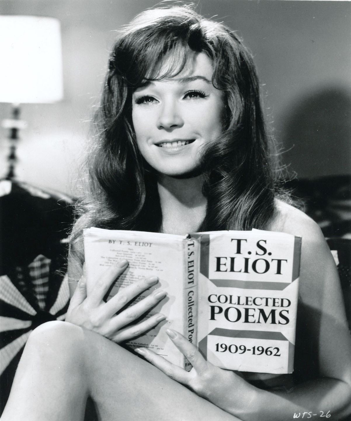 Stunningly young Shirley MacLaine.