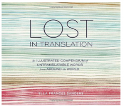 lost in translation untranslatable words