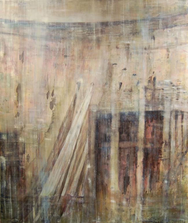 Old Don Pedro Powerhouse : 72x60 : Oil on canvas