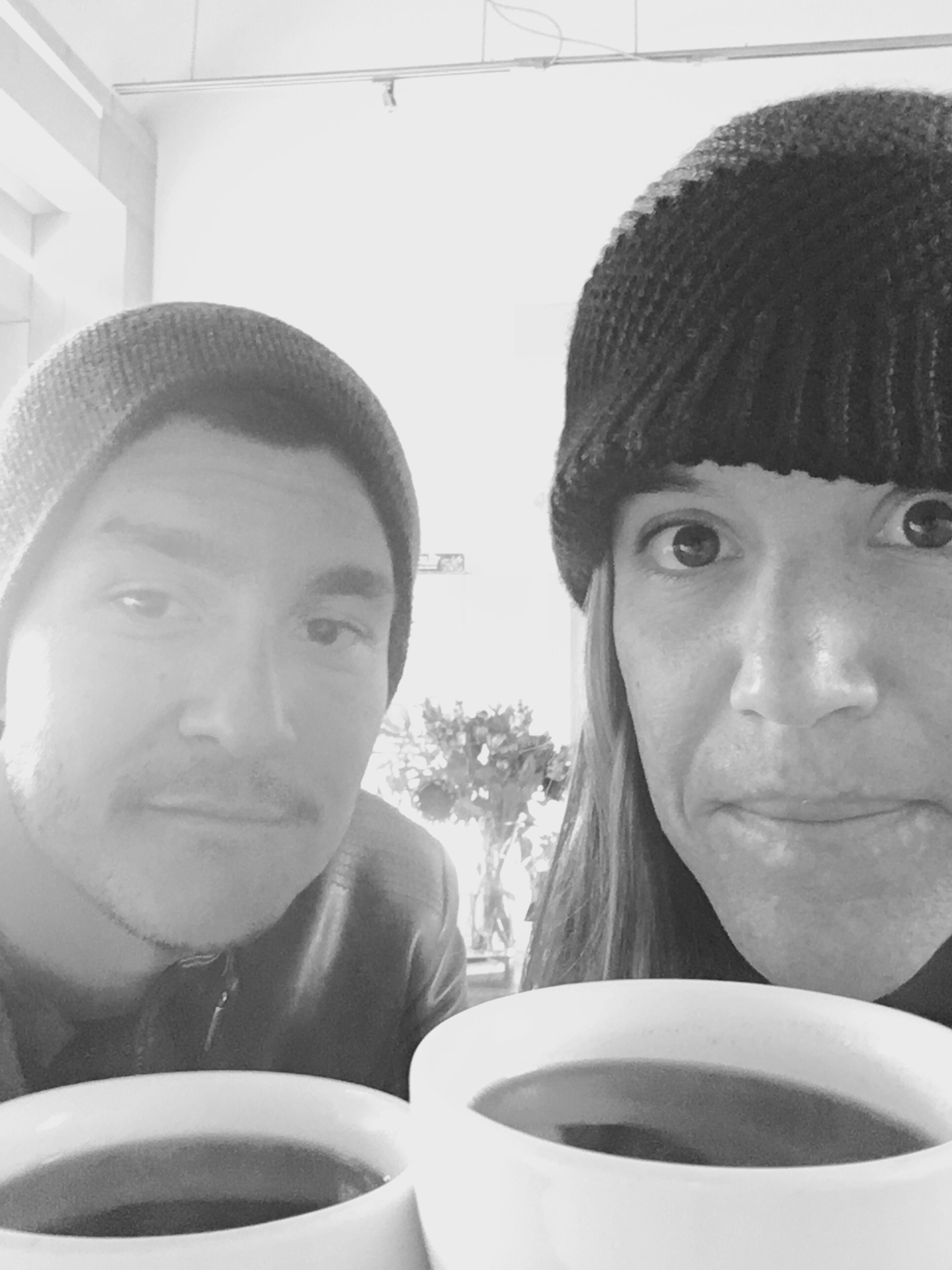 Coffee & cheers to 17 years!