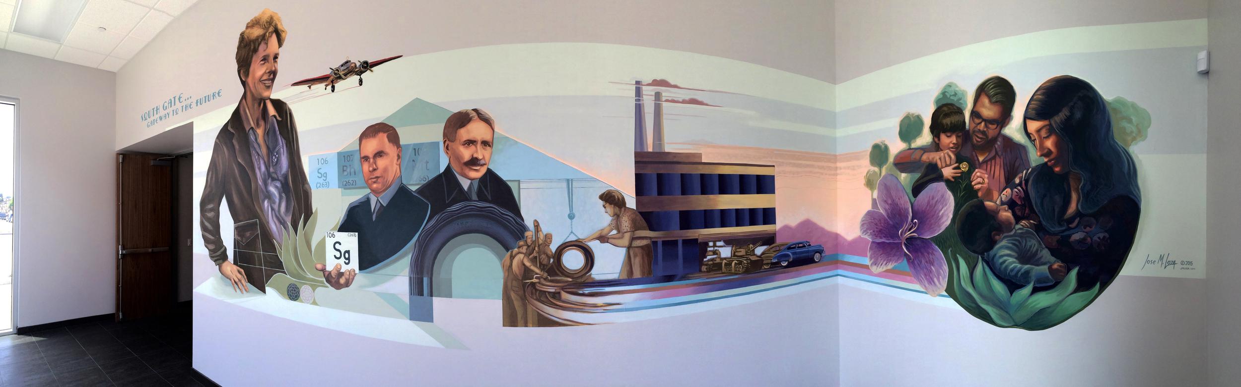 Azalea Mural