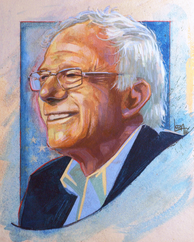 "Bernie Sanders 8""x10""  HERE"