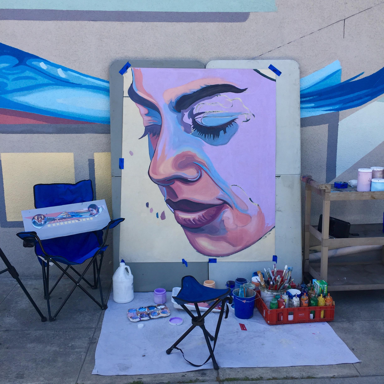 Onsite painting