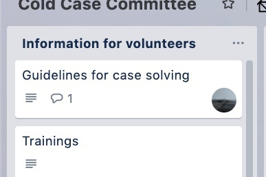 Step 3:Review case information - All of the information about your case will be visible on the case card in Trello.