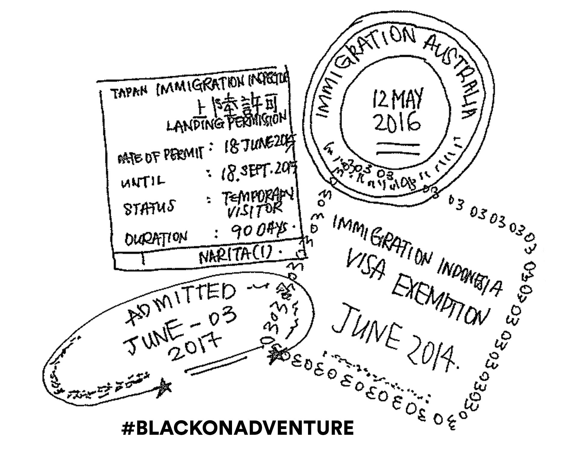 BLACK on Adventure