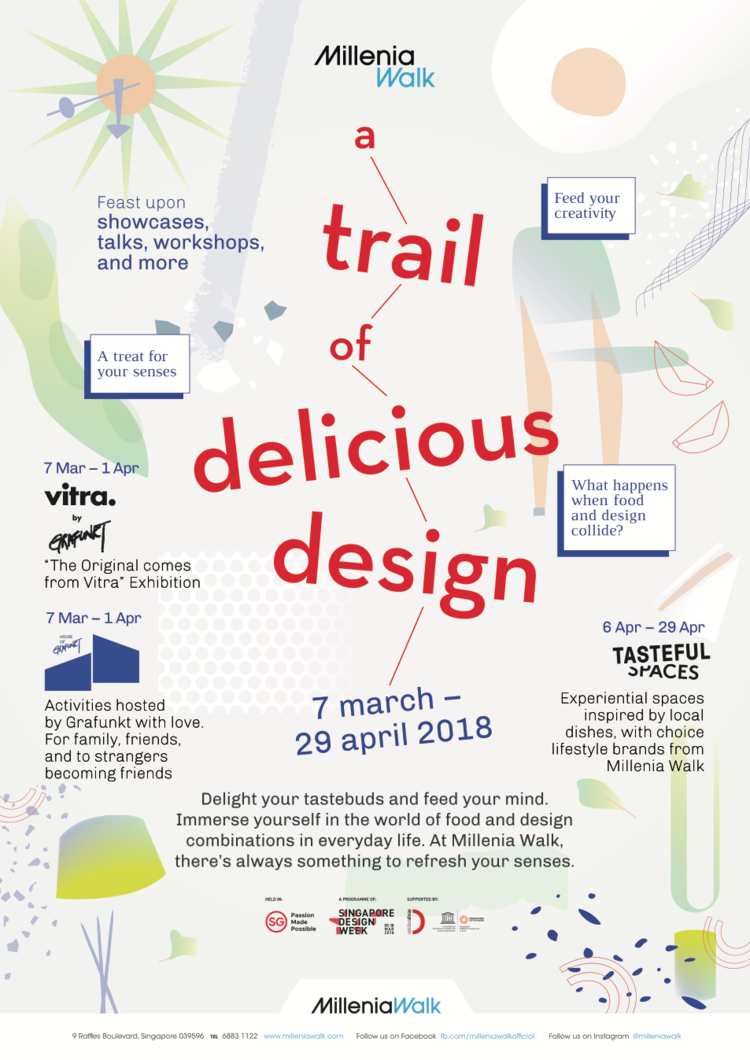 MILLENIA WALK - TRAIL OF DELICIOUS DESIGN