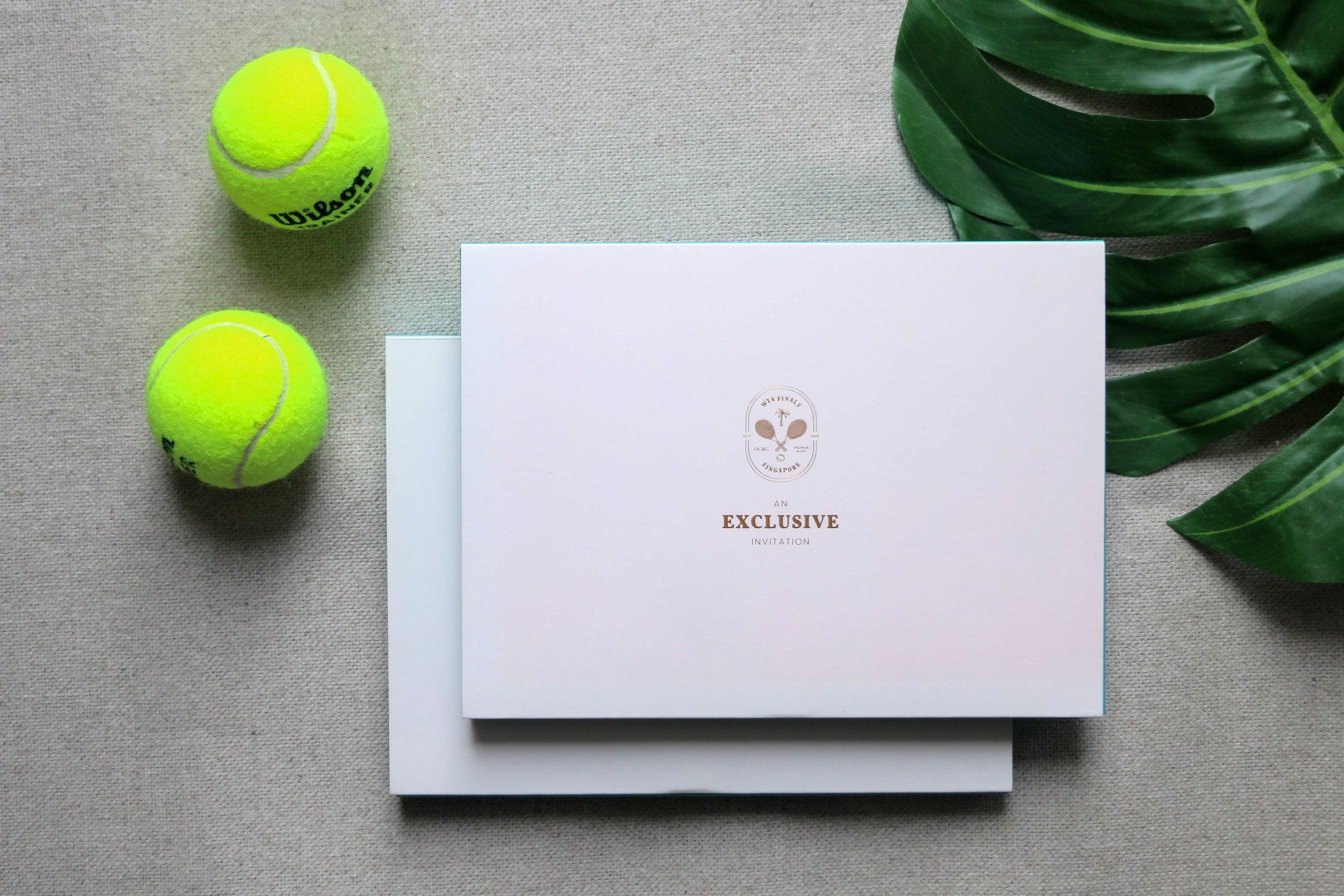 WTA FINALS SINGAPORE OCBC PREMIER SUITE