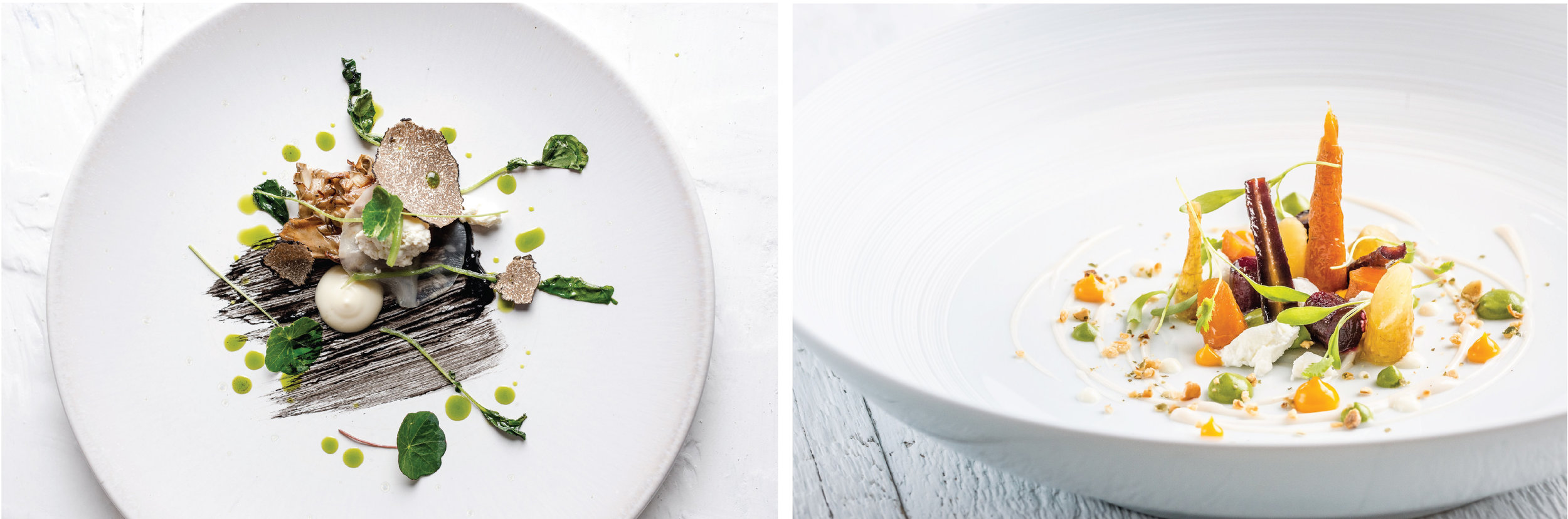 📷Chef Wignall's style of plating that look like magical gardens waiting to be explored  Photo Sources:    Michael Wignall