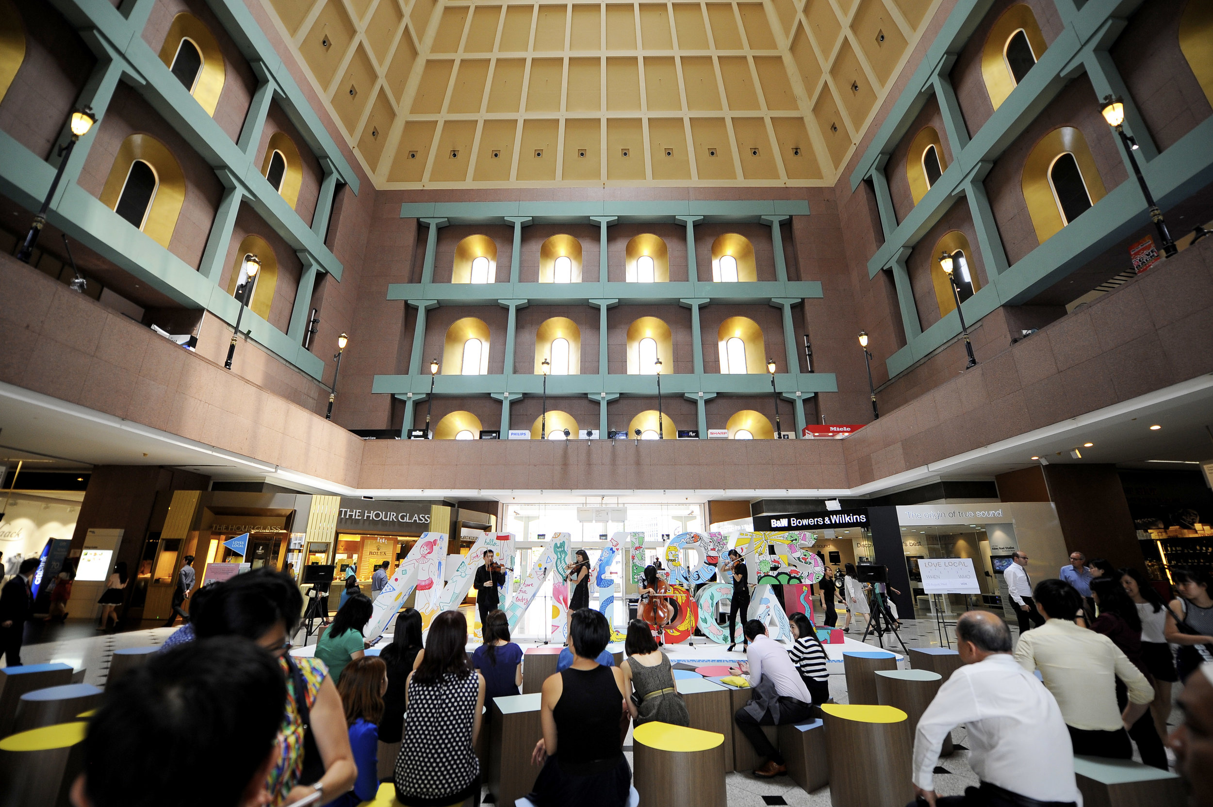 outeredit - millenia walk loves local - great hall