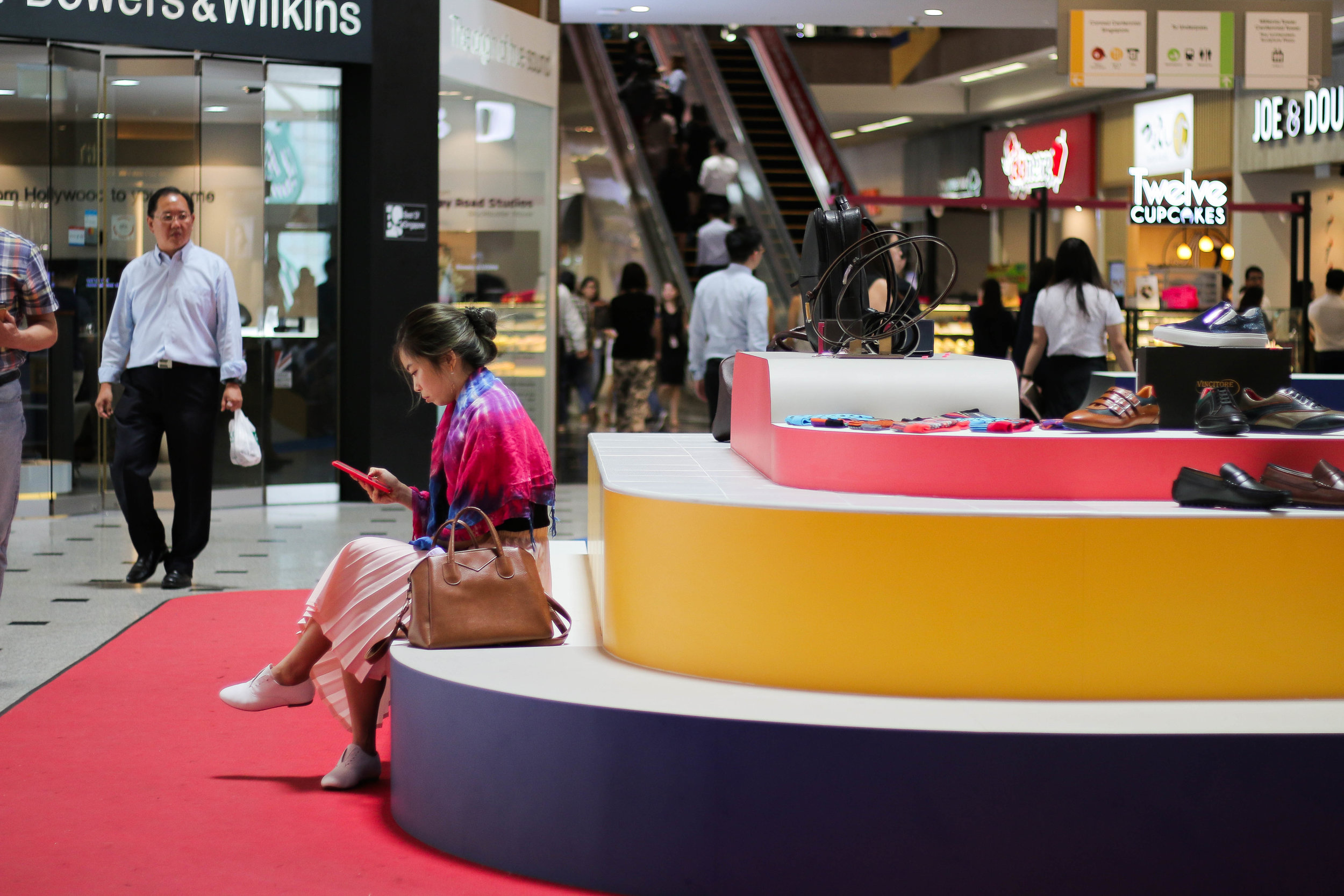 outeredit - millenia walk design play space - sitting
