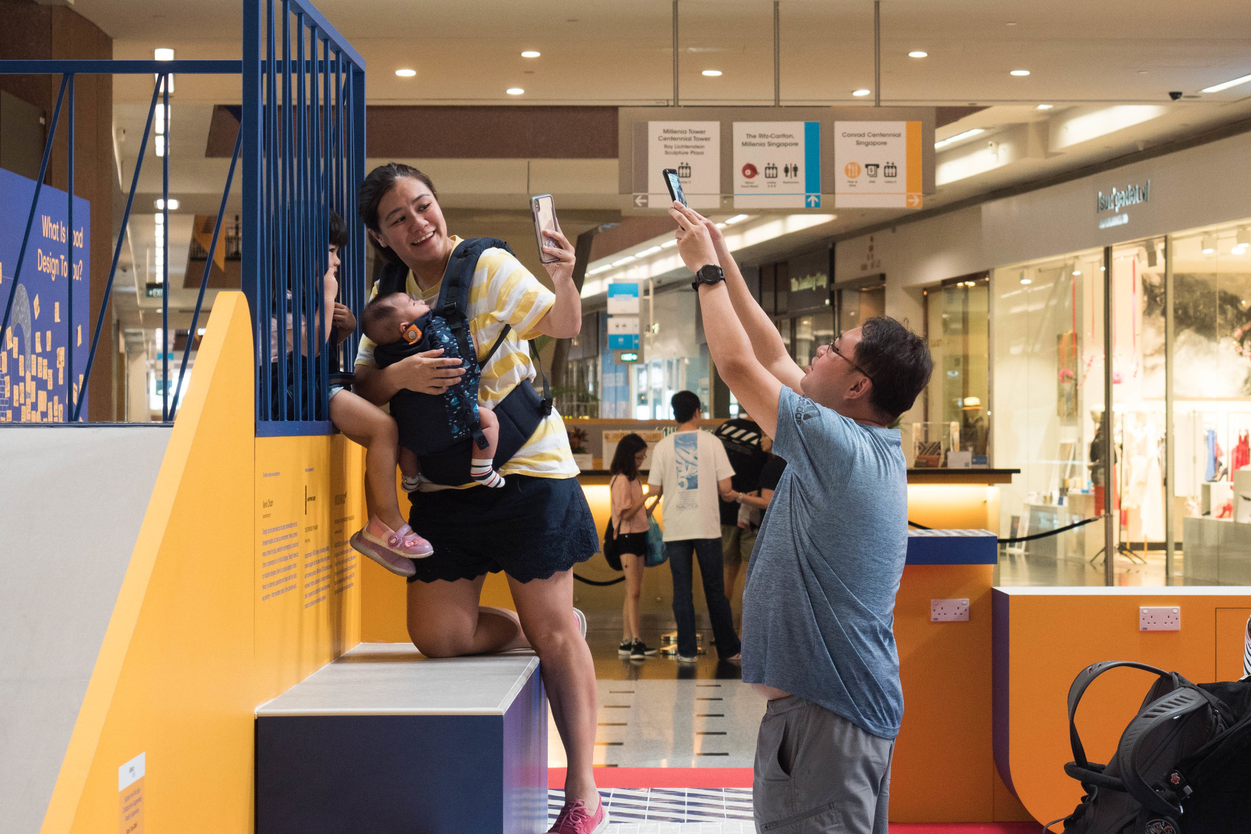 outeredit - millenia walk design play space - family