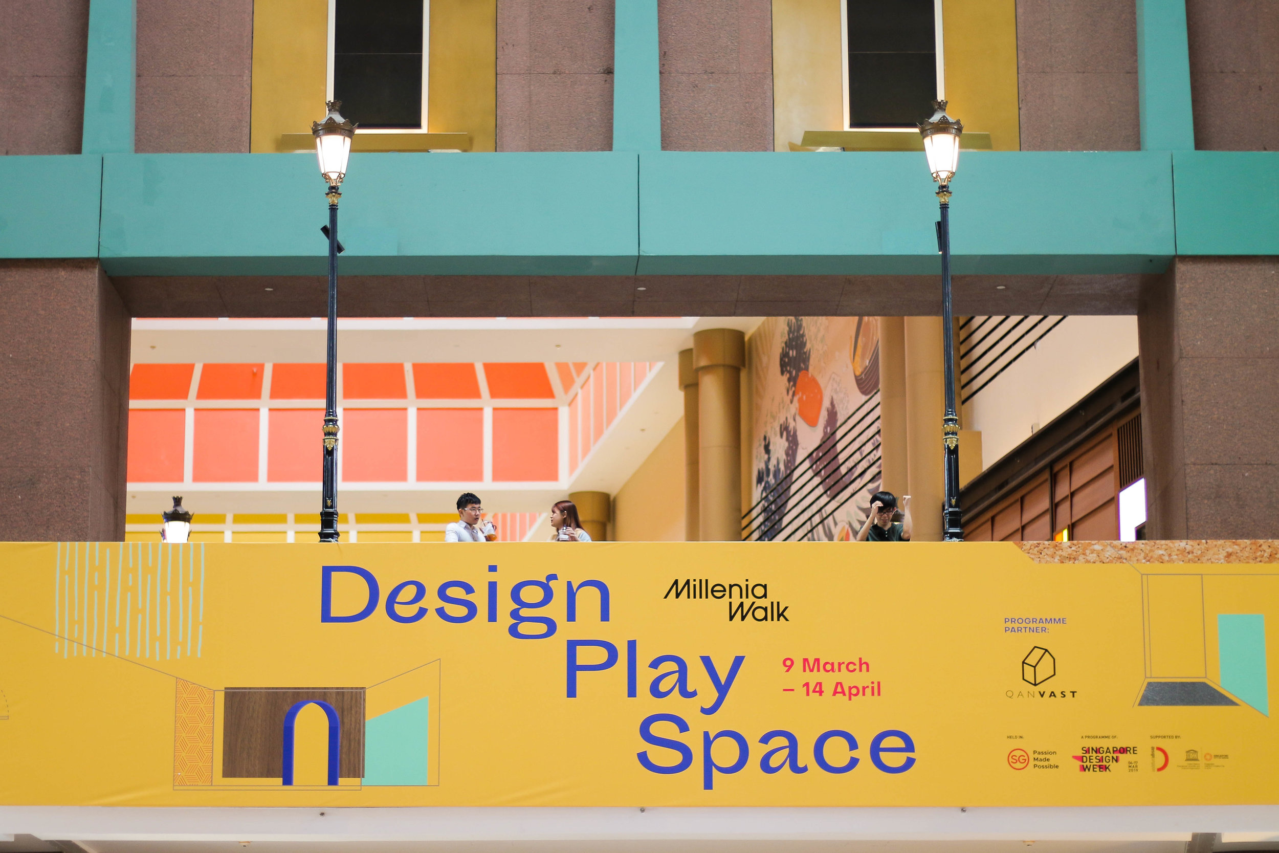 outeredit - millenia walk design play space - great hall