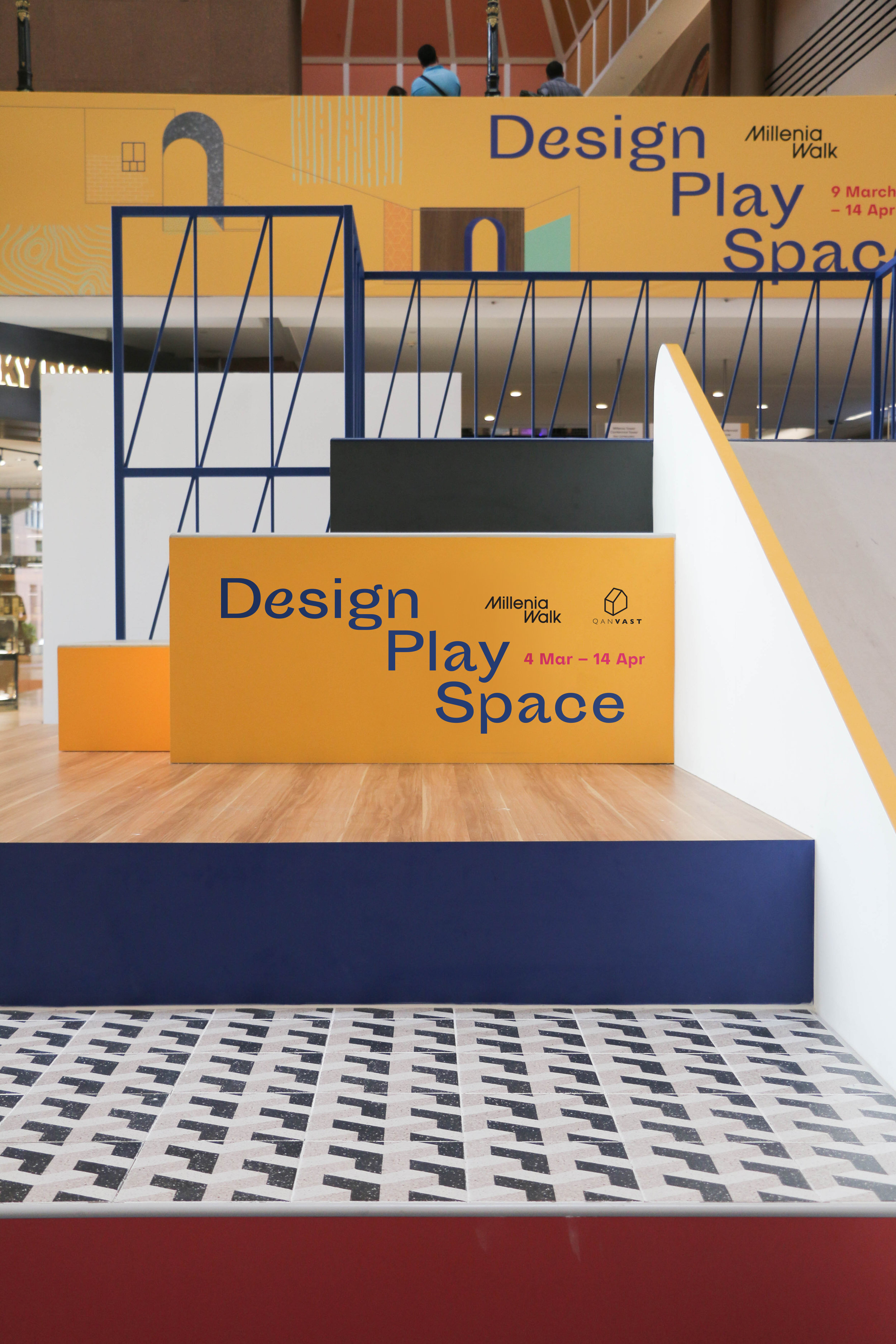 outeredit - millenia walk design play space - front