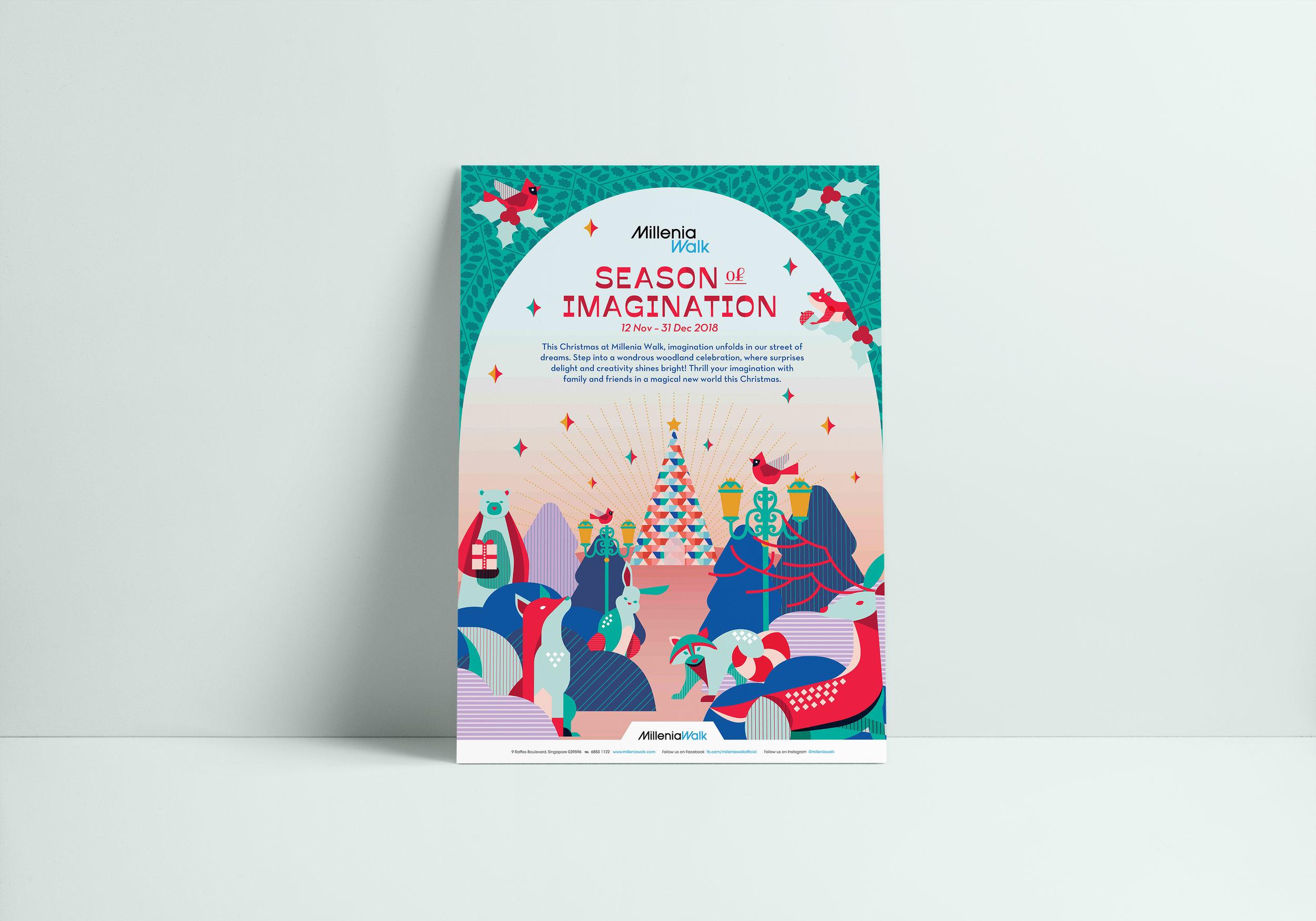 outeredit - millenia walk season of imagination - christmas key visual