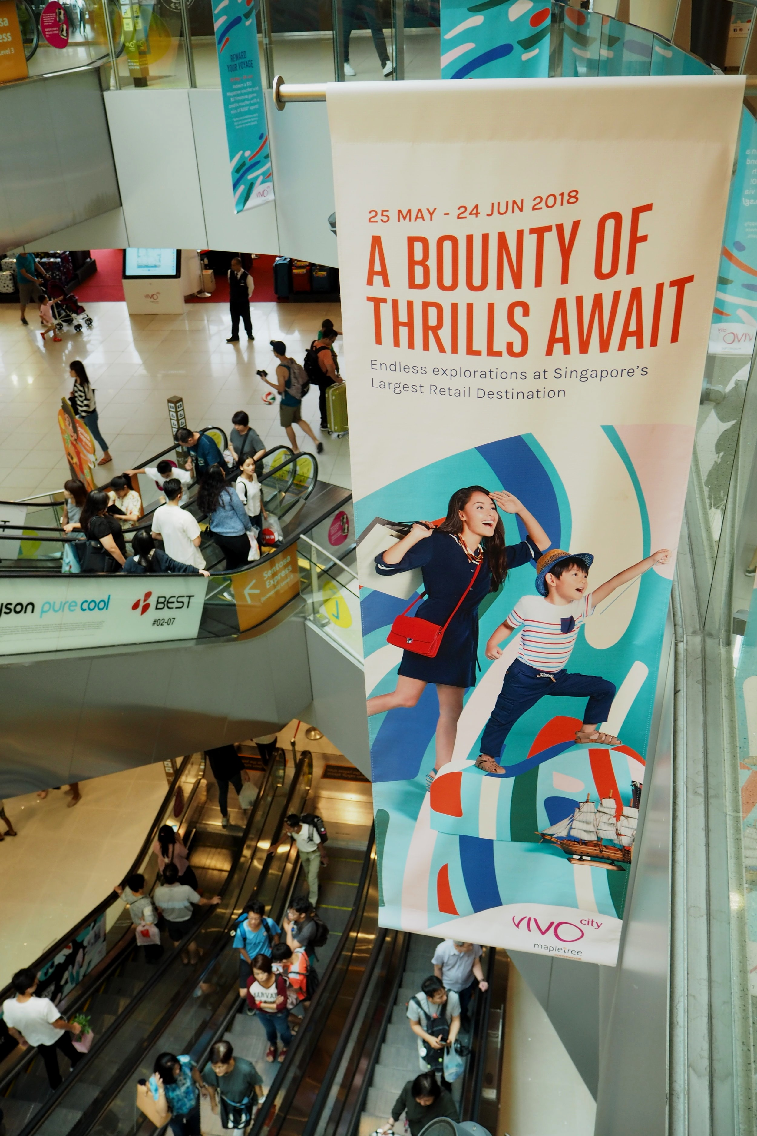 outeredit vivocity atrium banners