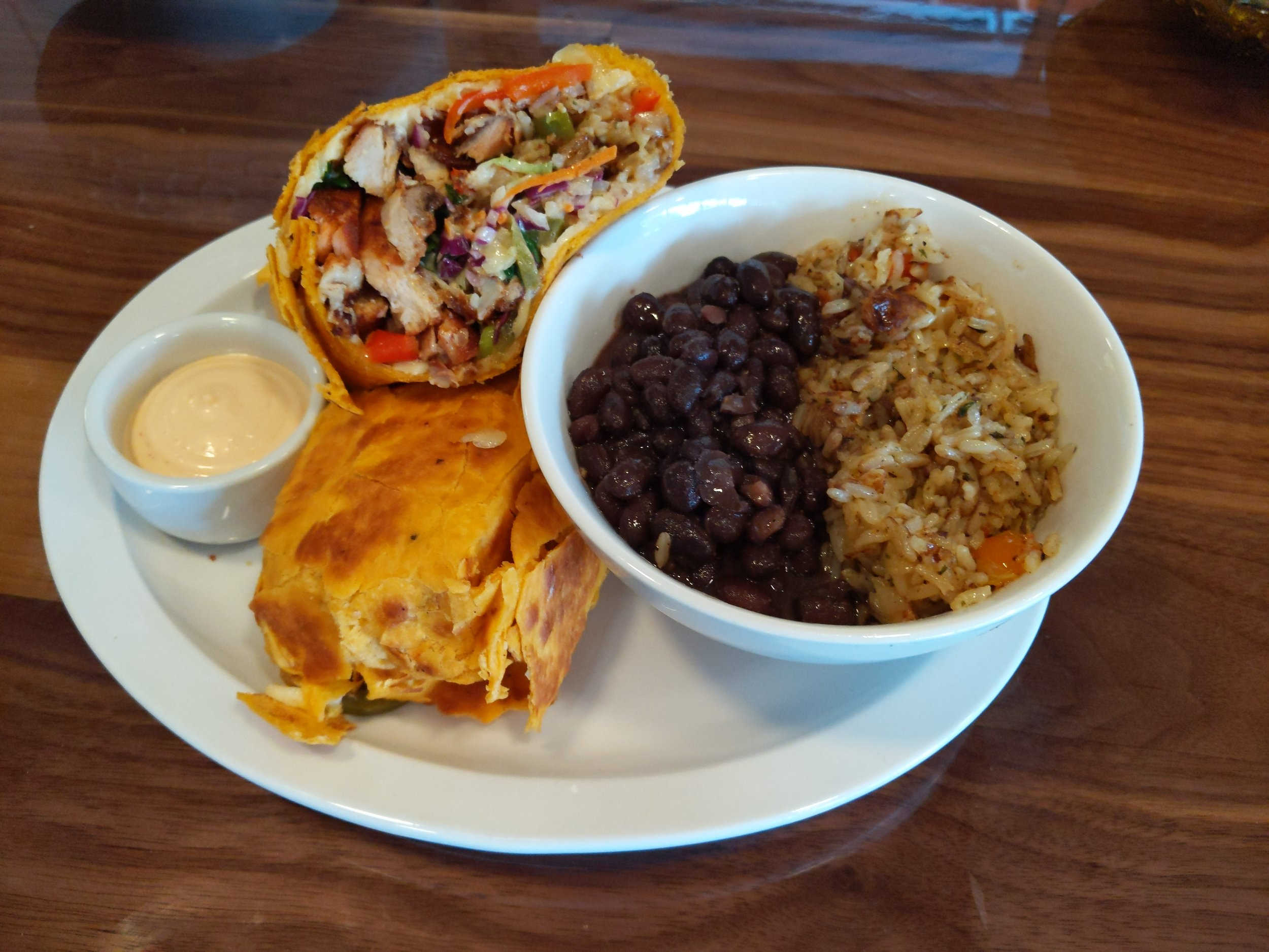 Burrito with Rice & Beans