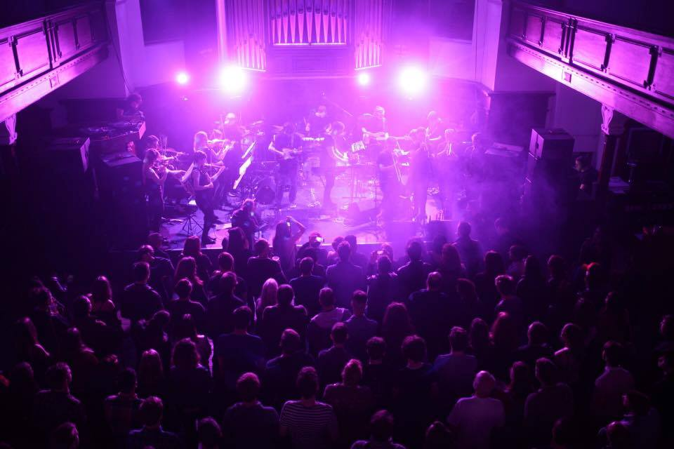 """Atlas"" album launch at St Luke's & The Winged Ox, Glasgow"