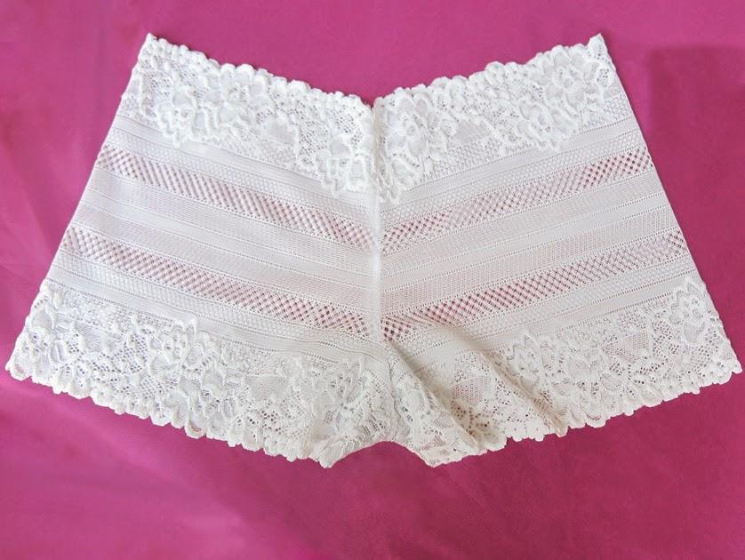 Moonstone Lace Lingerie. (Nylon, cotton) 2014