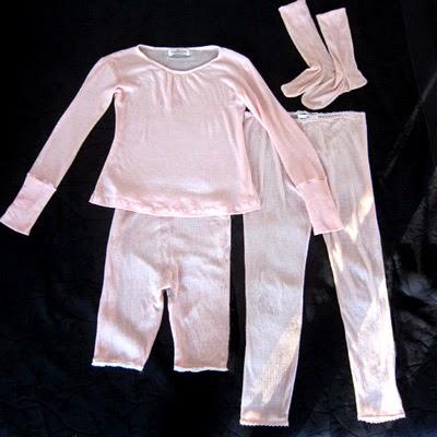 Long Johns, Bloomers, Long Sleeve Tee, Socks. Merino Wool.