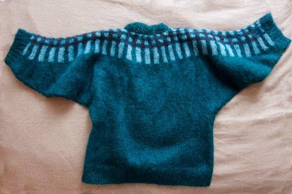 Dolman Sweater (back)