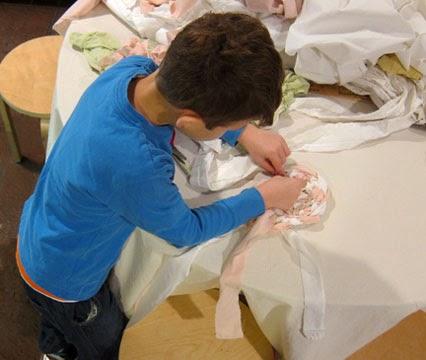 Rug Making Workshop for Kids (November, 2013)