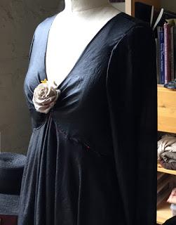 Señorita Dress (in process), 2015