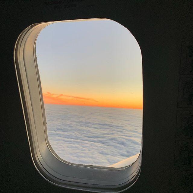 Cloud ocean. #nofilter #perspective #dusk