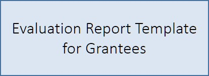 PowerPoint document completed annually by grantees at the end of reporting cycle.