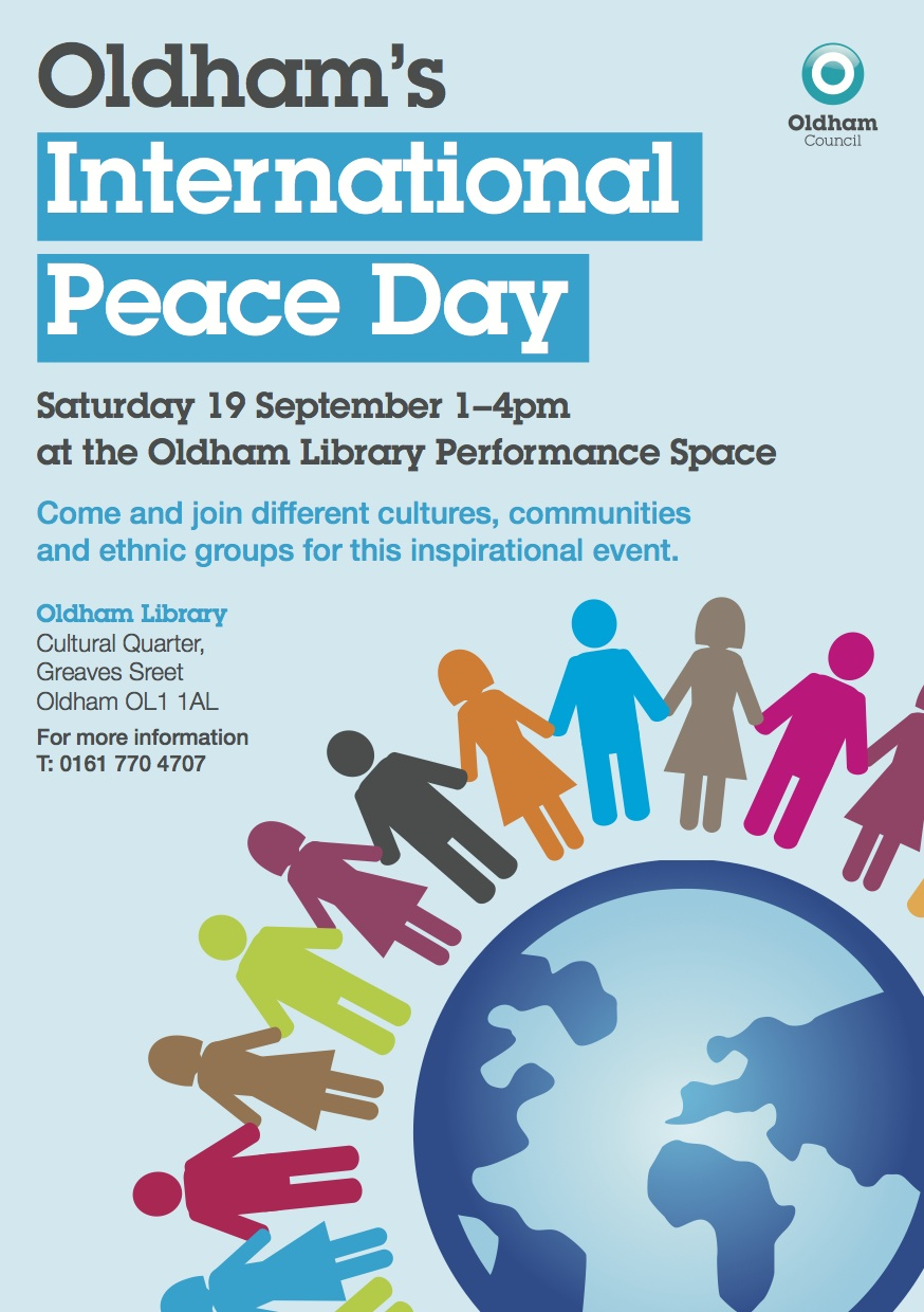 Oldham Council - International Peace Day