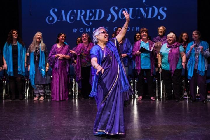 Sacred Sounds Women's Choir. Photography by Michela De Rossi