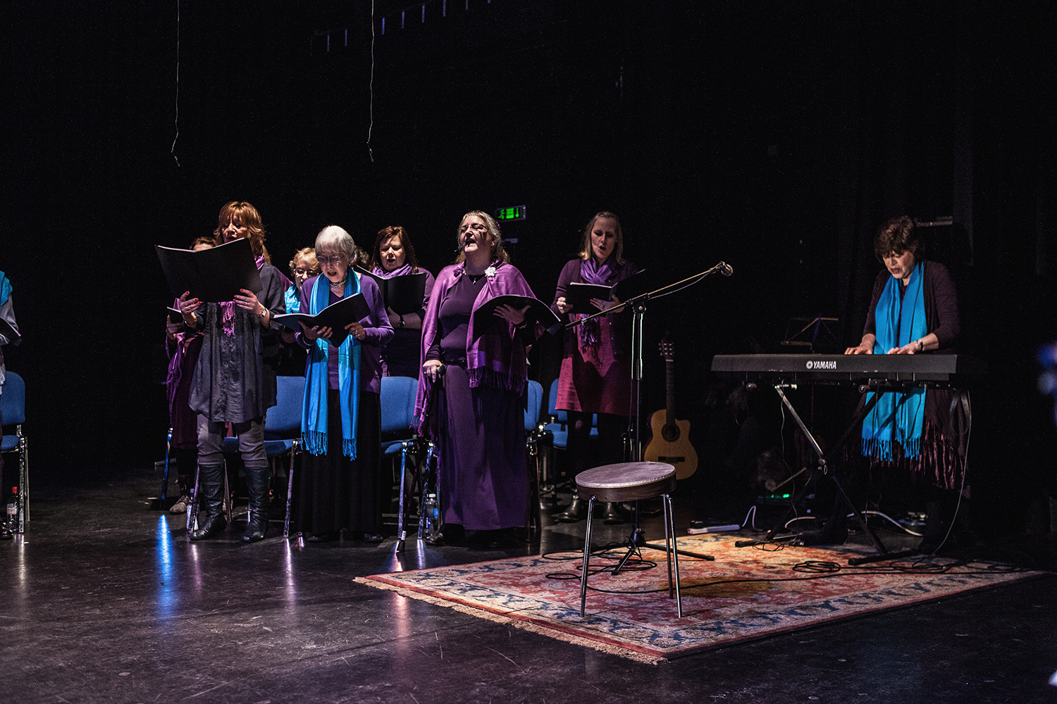 Members of the Sacred Sounds Women's Choir as they perform at their Showcase Event Photo: Michela De Rossi
