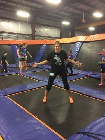 United Church of Christ, Southbury Junior Pilgrim Fellowship (JPF) Fun at Skyzone