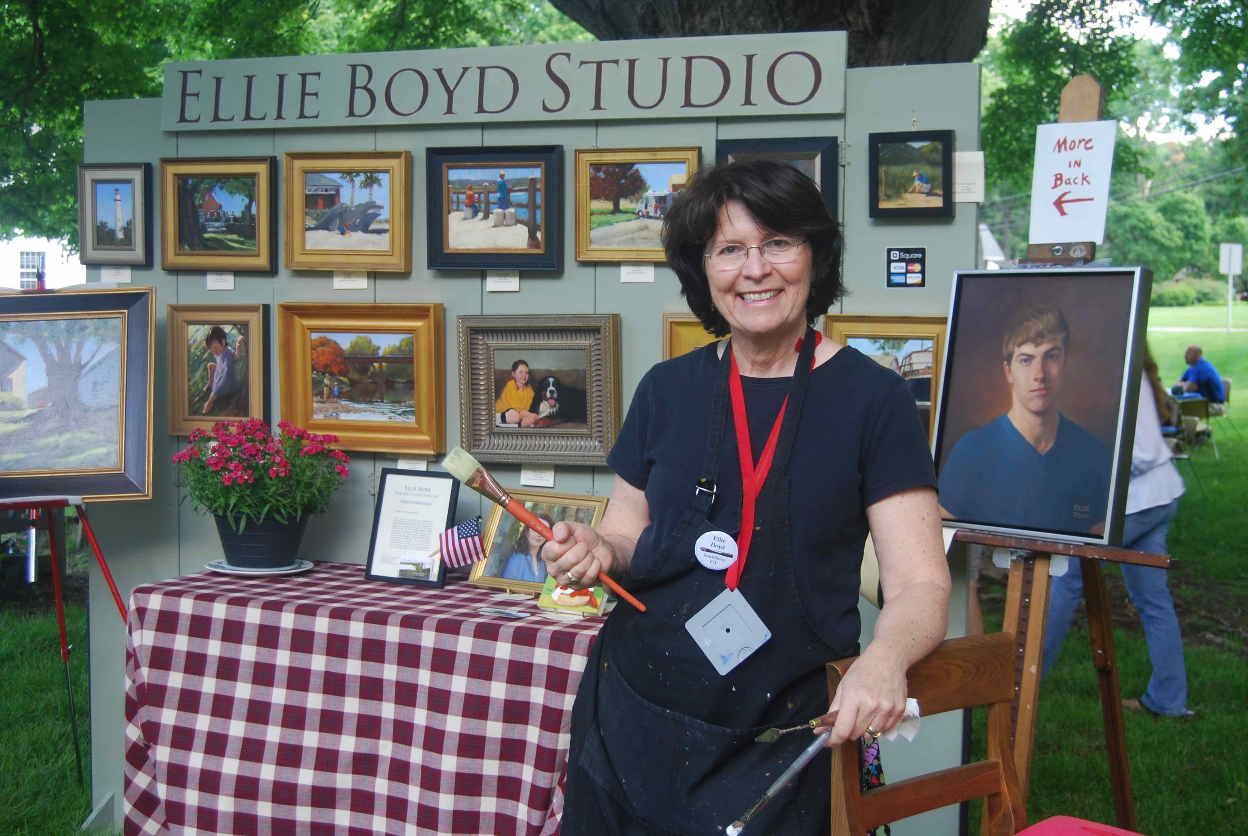 United Church of Christ, Southbury Strawberry Festival Vendor Ellie Boyd