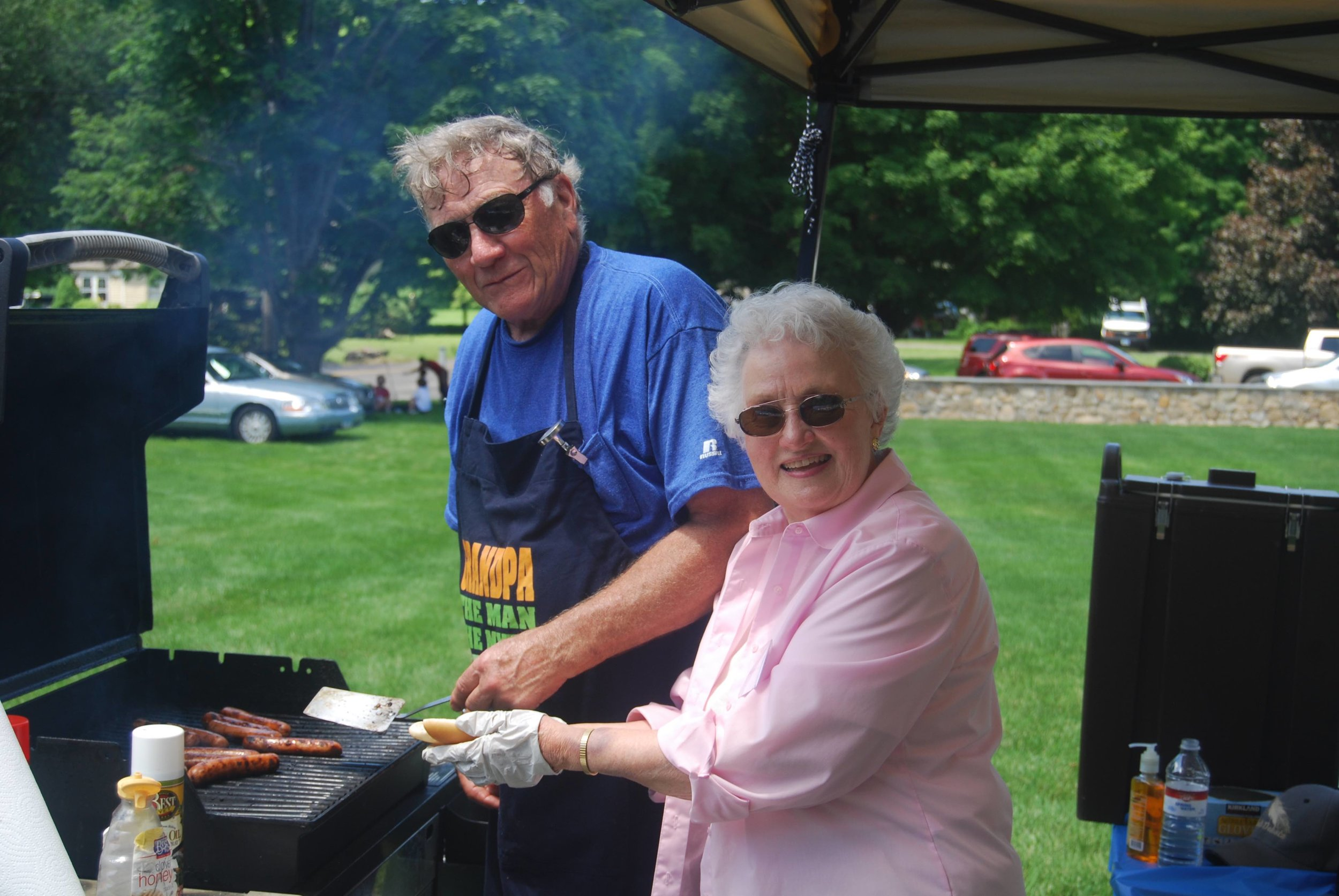 United Church of Christ, Southbury Strawberry Festival Grilled Food