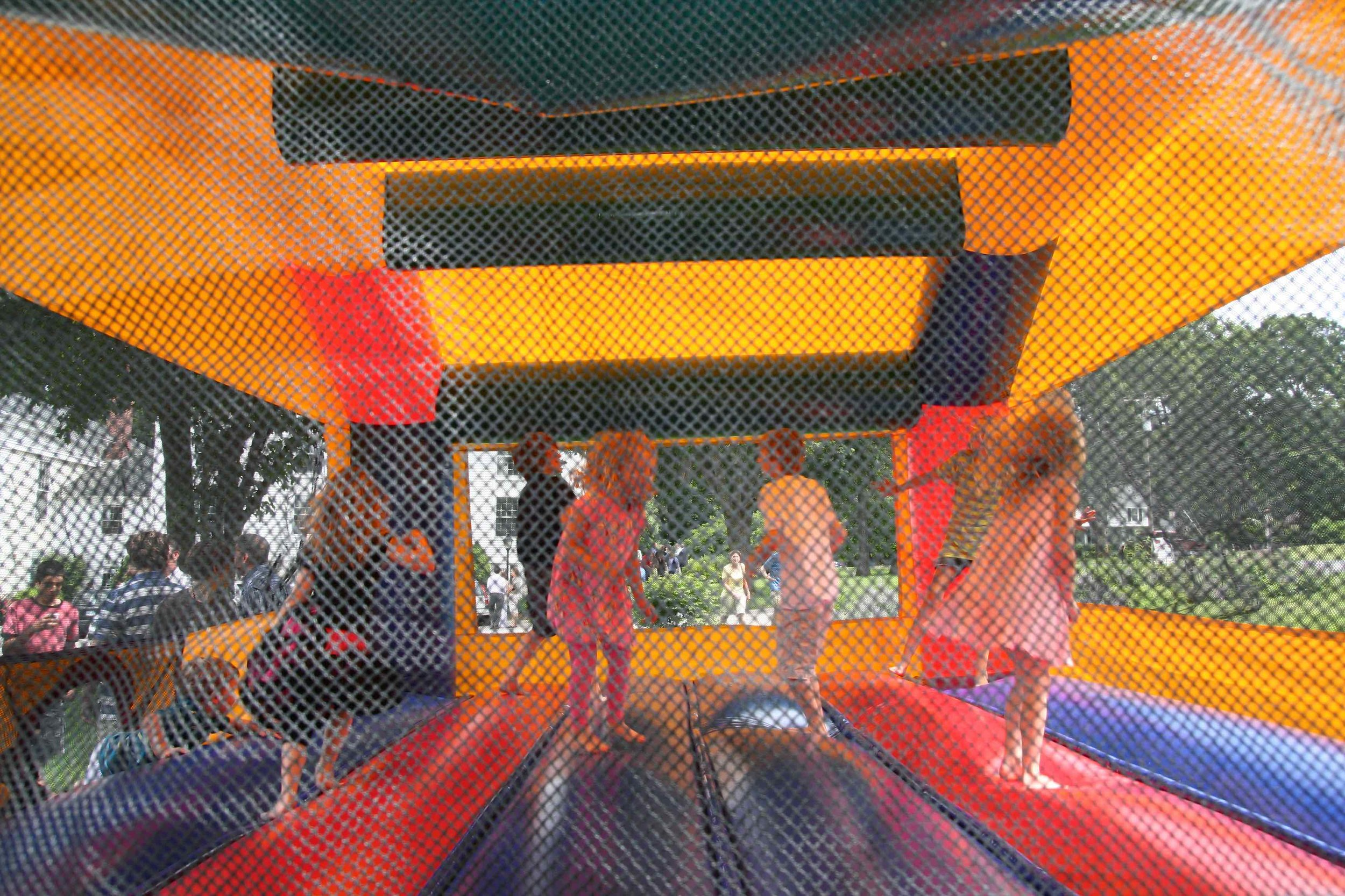 United Church of Christ, Southbury Strawberry Festival Bounce House