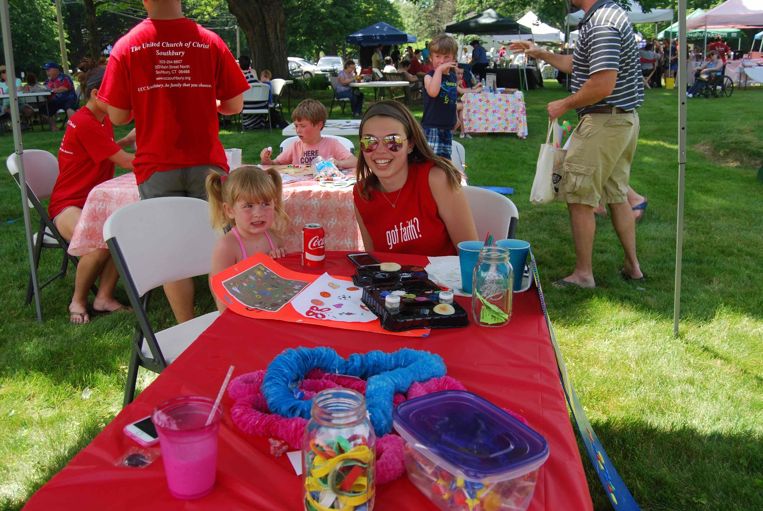 United Church of Christ, Southbury Strawberry Festival Kid's Crafts