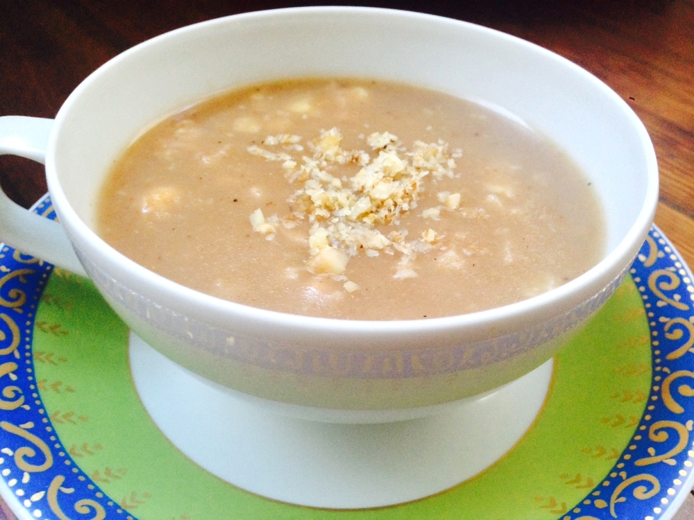NEW BLOG, NEW WEBSITE AND NEW MOM'S SWEET WALNUT SOUP - LETEE