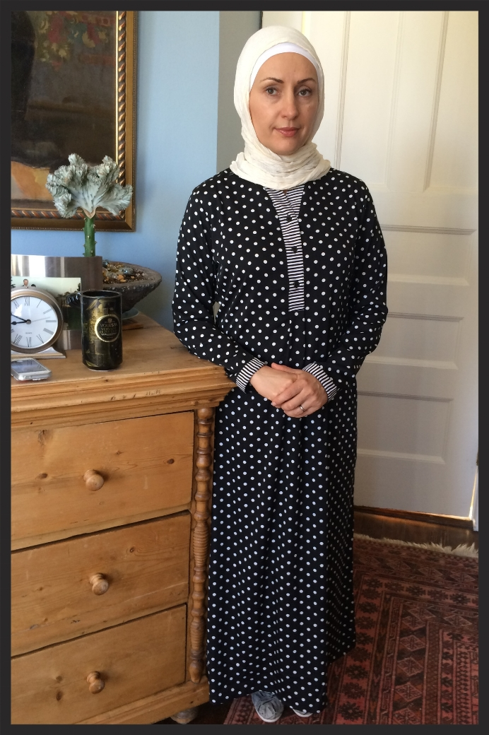 Polka dot Abaya from East Essence