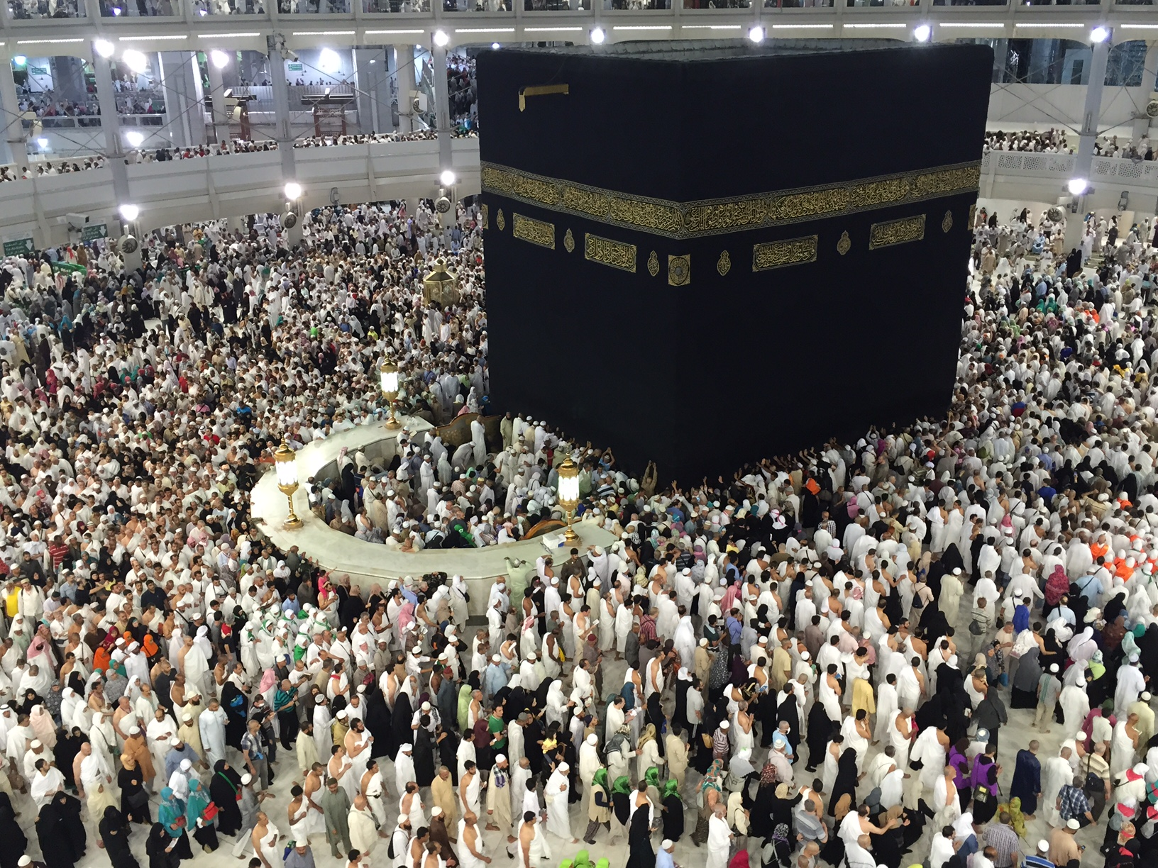 Grand view of the Kaaba