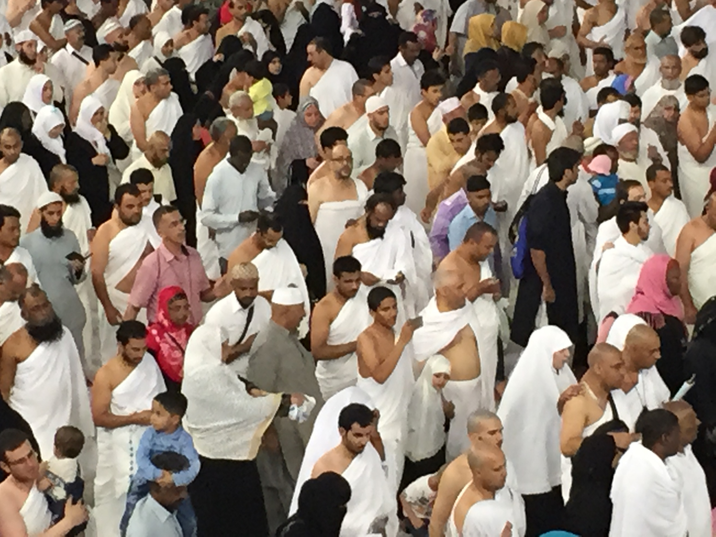 Different faces of Tawaf