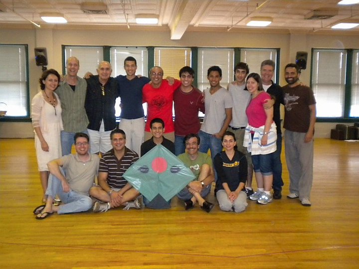 Cast and creative team for the Kite Runner play at Actor's Theatre, Louisville