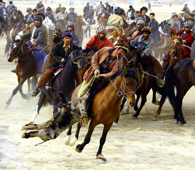 I loved going to Buzkashi tournaments with my family.