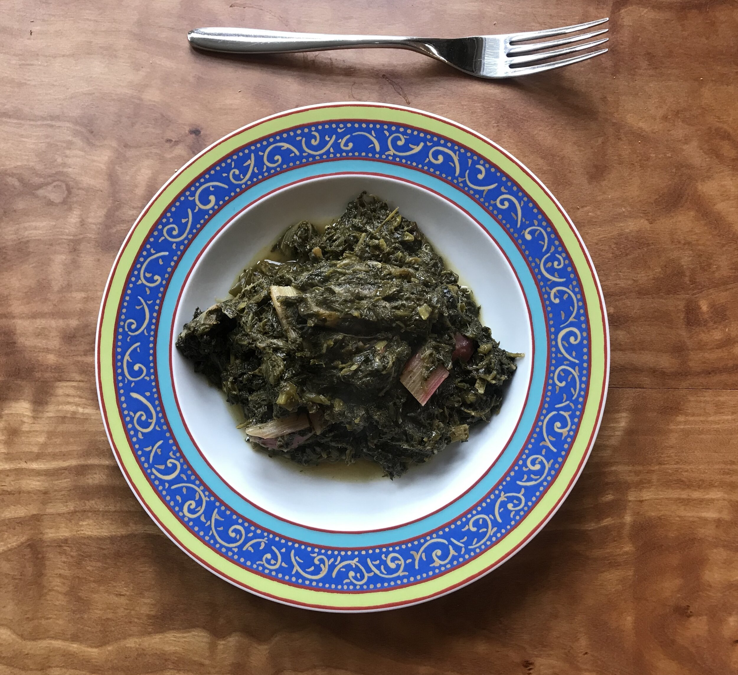 Sabzi challaw  is a favorite Nowroz food.