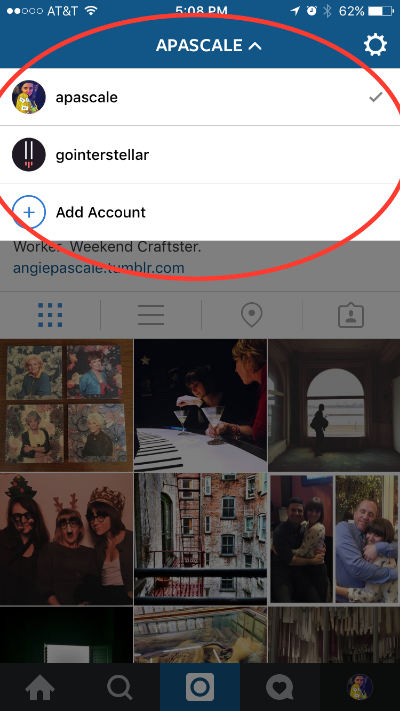 Instagram Switch Accounts.PNG